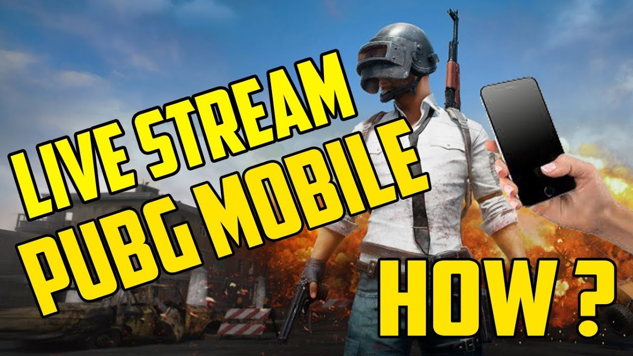 how to stream pubg mobile on youtube