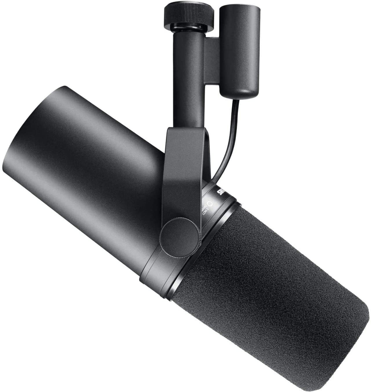 Shure SM7B- Best Mid-Tier Dynamic Microphone for Streaming