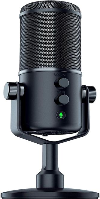 Razer Seiren Elite USB Streaming Microphone- Professional Grade Sleek Streaming Microphone