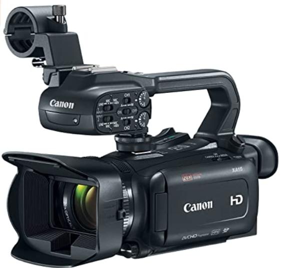 Canon XA15 Prosumer Camcorder